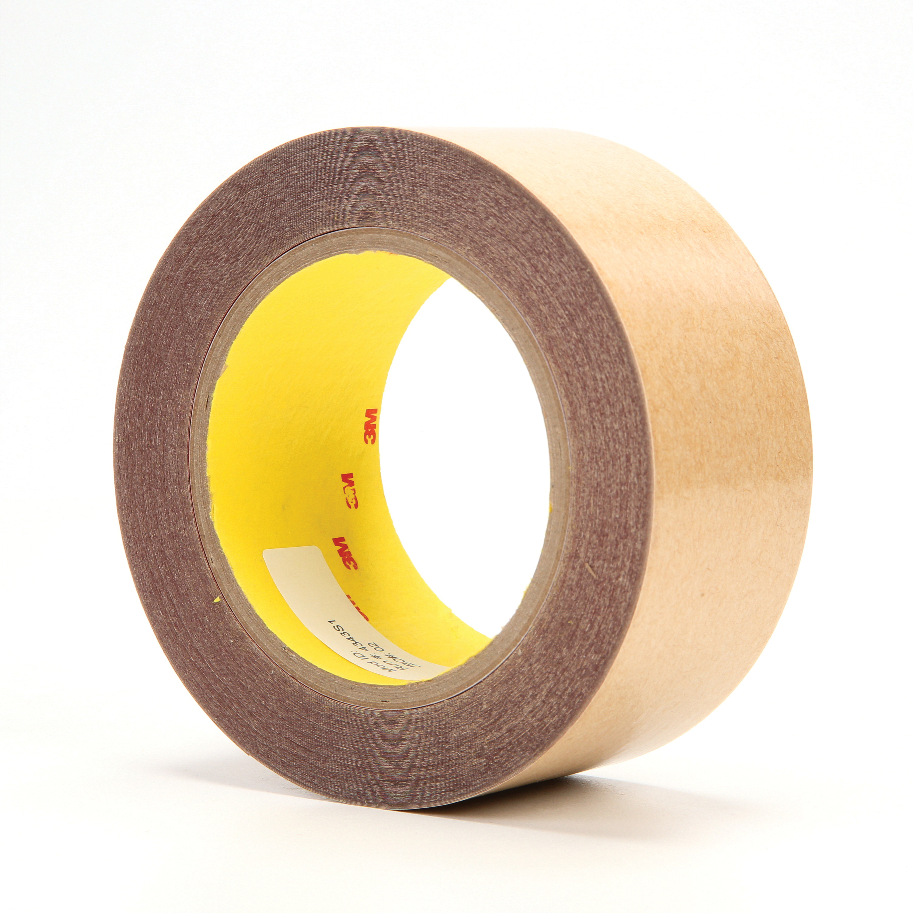 3M™ 021200-16057 Non-Repulpable Double Coated Splicing Tape, 36 yd L x 2 in W, 4 mil THK, 400HT Acrylic Adhesive, Polyester Backing, Red
