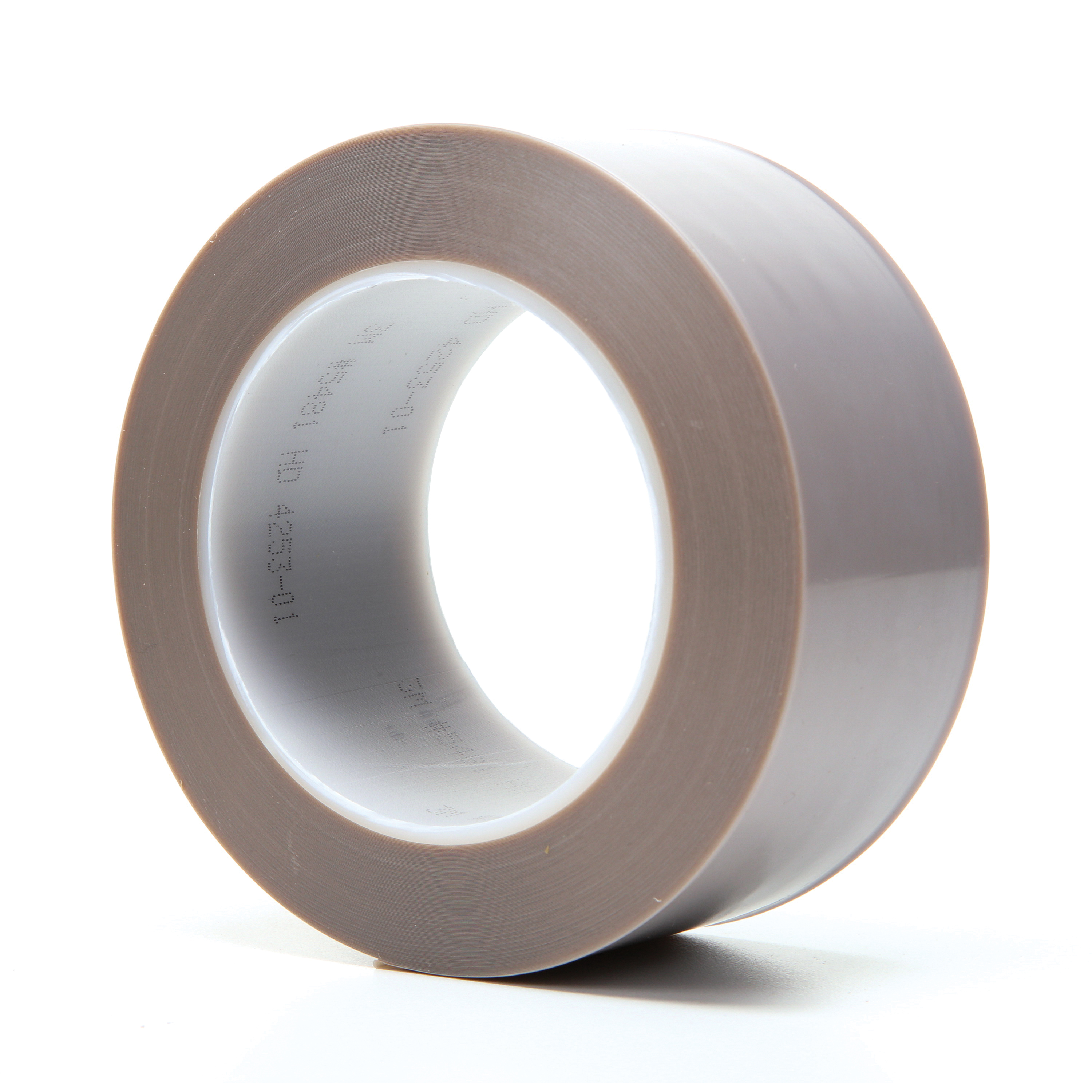 3M™ 021200-16132 Heavy Duty Film Tape, 36 yd L x 2 in W, 6.8 mil THK, Silicon Adhesive, Skived PTFE Backing, Gray