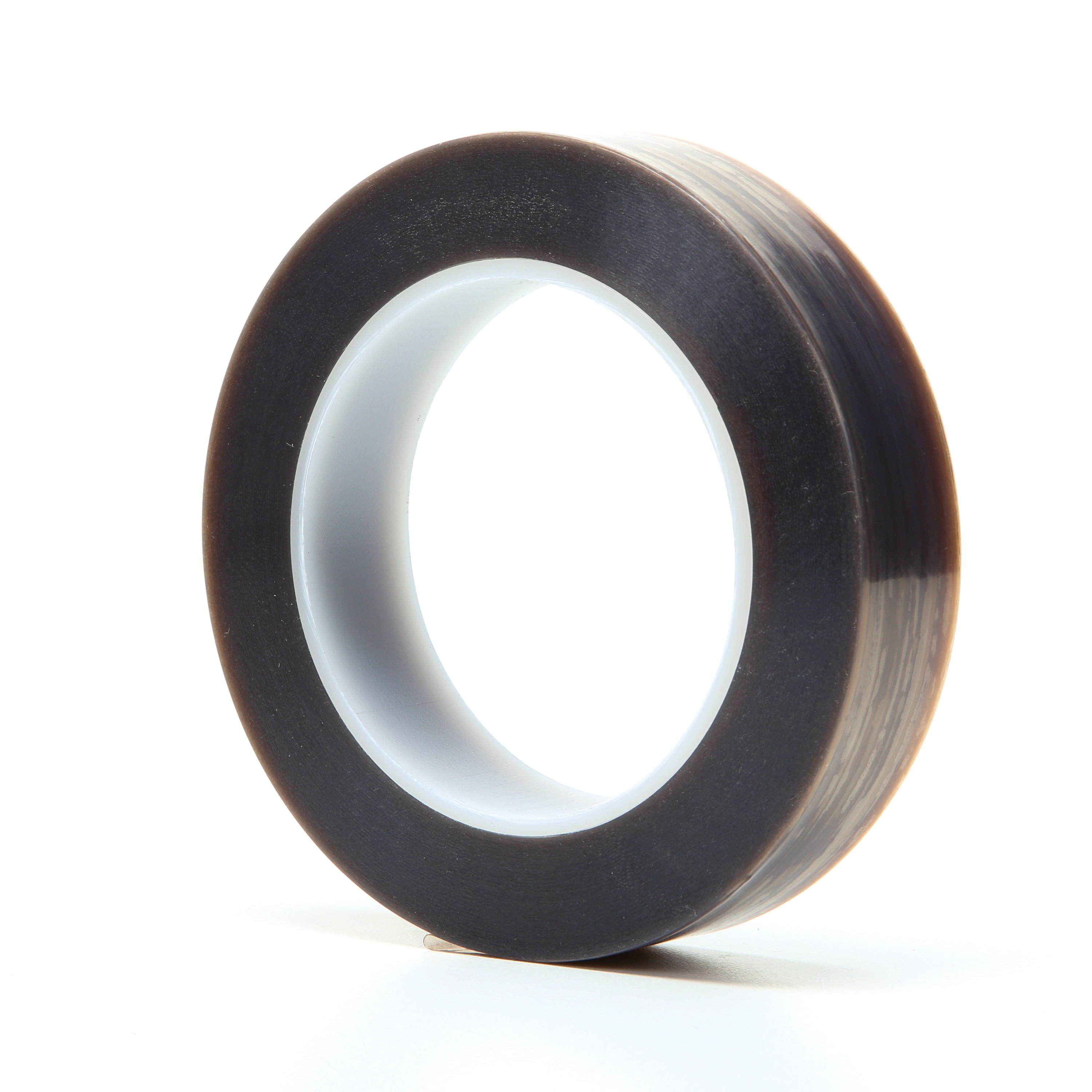 3M™ 021200-16146 Film Tape, 36 yd L x 1 in W, 6.7 mil THK, Silicone Adhesive, 5 mil Extruded PTFE Backing, Gray