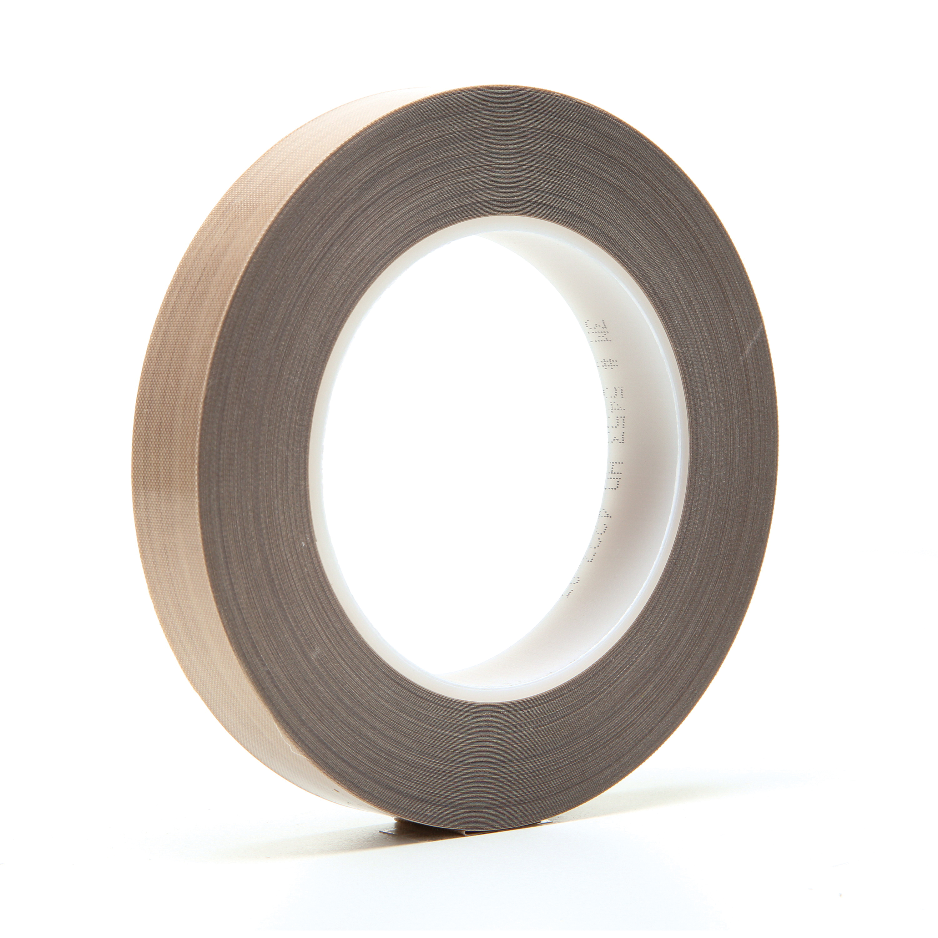 3M™ 021200-16159 Pressure Sensitive Glass Cloth Tape, 36 yd L x 3/4 in W, 8.2 mil THK, Silicon Adhesive, Woven Glass Cloth Impregnated with PTFE Backing, Brown
