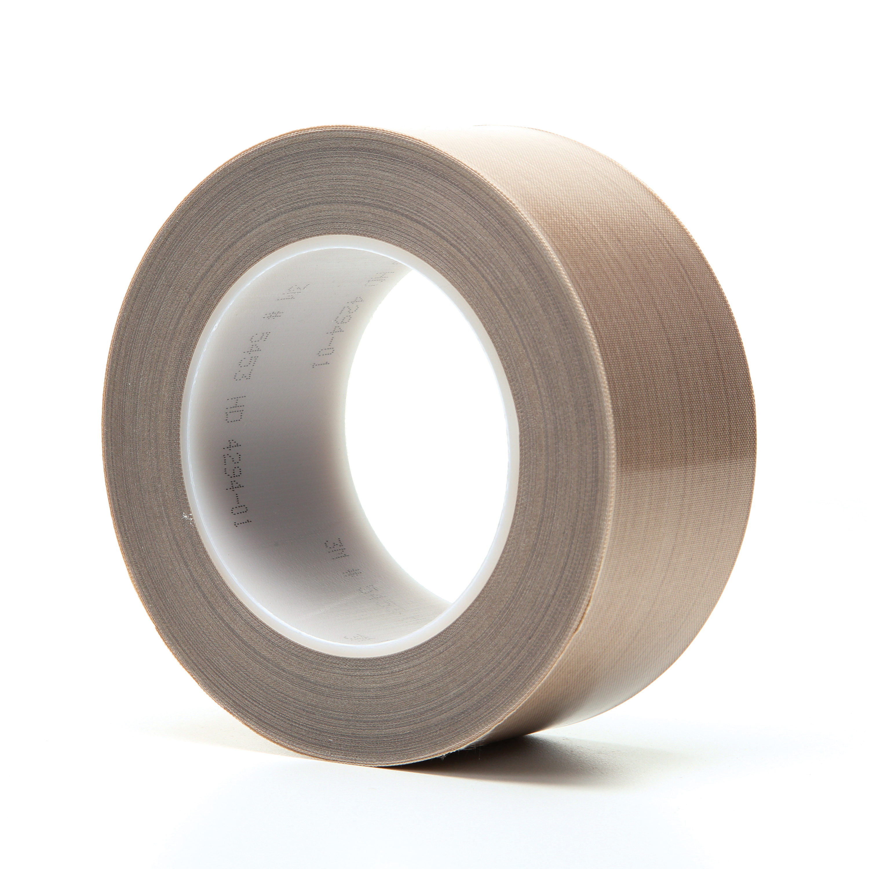 3M™ 021200-16162 Pressure Sensitive Glass Cloth Tape, 36 yd L x 2 in W, 8.2 mil THK, Silicone Adhesive, 6 mil Woven Glass Cloth Impregnated with PTFE Backing, Brown