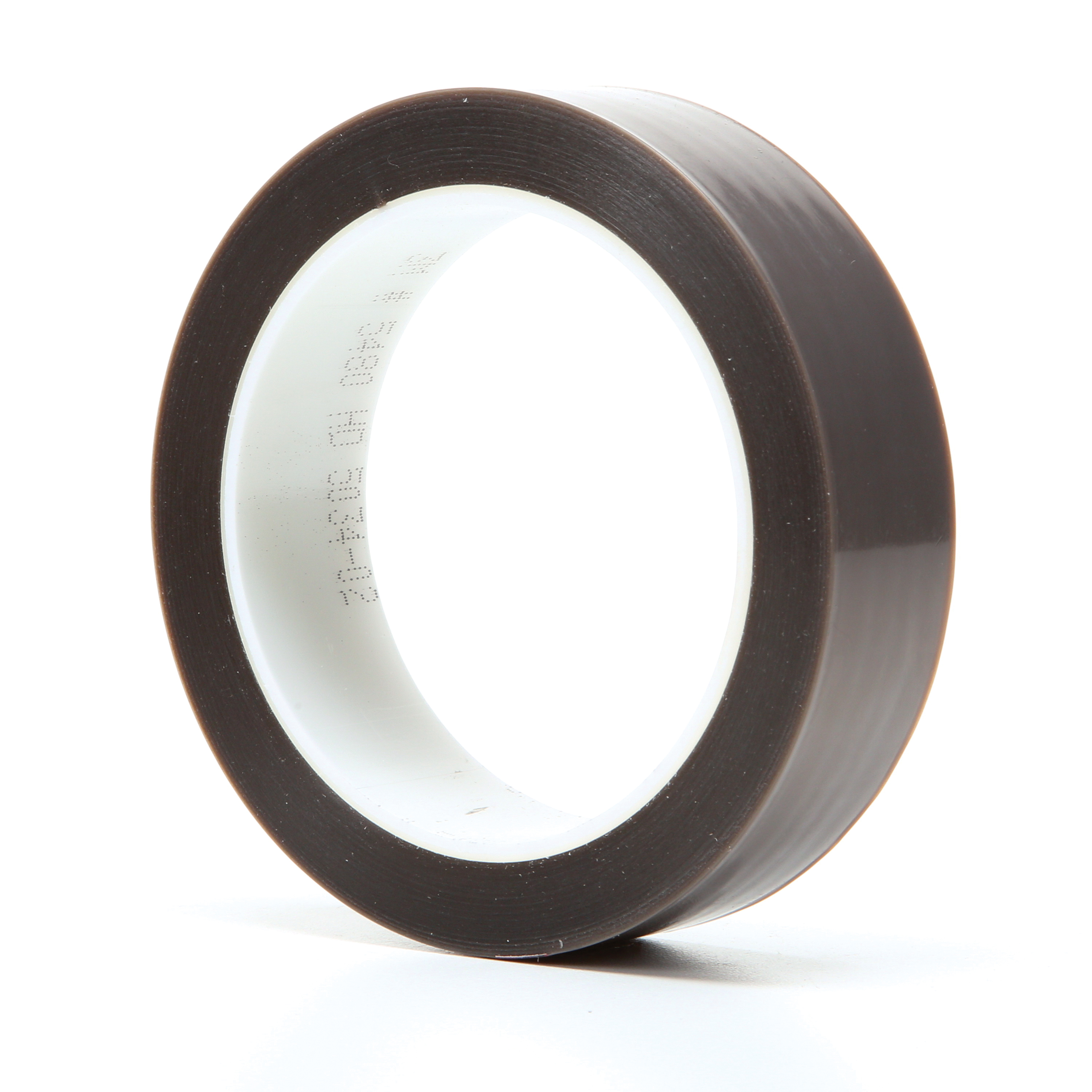 3M™ 021200-16166 Film Tape, 36 yd L x 1 in W, 3.7 mil THK, Silicon Adhesive, Skived PTFE Backing, Gray
