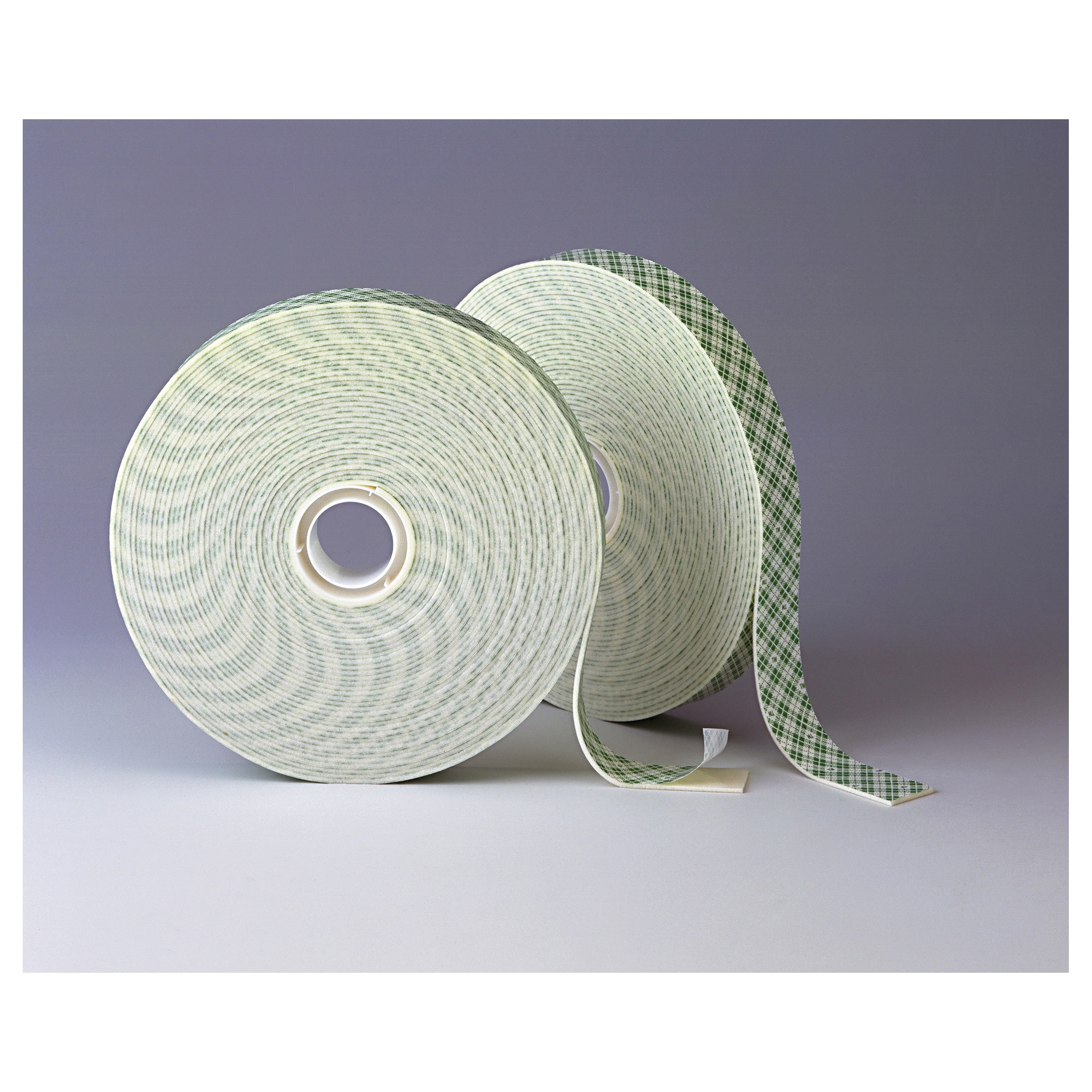 3M™ 021200-16992 Double Coated Tape, 36 yd L x 3 in W, 62 mil THK, Acrylic Adhesive, Urethane Foam Backing, Off-White