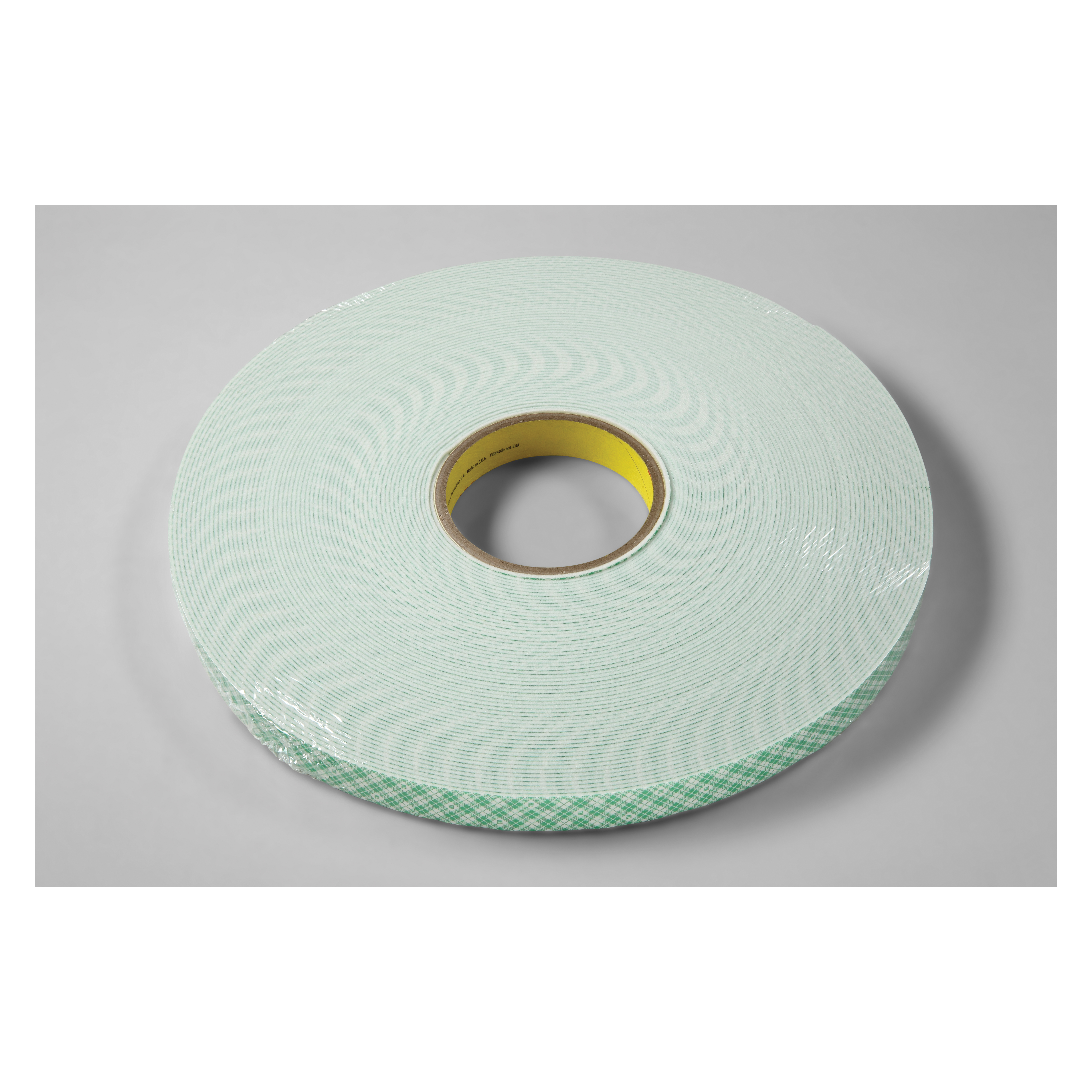 3M™ 021200-17056 Double Coated Tape, 36 yd L x 3/4 in W, 62 mil THK, Acrylic Adhesive, Urethane Foam Backing, Off-White