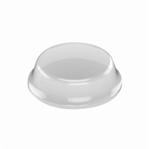 3M™ Bumpon™ 021200-19217 Protective Bumper, Cylindrical Flat Top, Clear, Polyurethane Foam, 1/2 in W