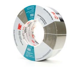 3M™ 021200-22780 6969 Extra Heavy Duty Duct Tape, 54.8 m L x 48 mm W, 10.7 mil THK, Rubber Adhesive, Polyethylene Film Over Cloth Scrim Backing, Olive