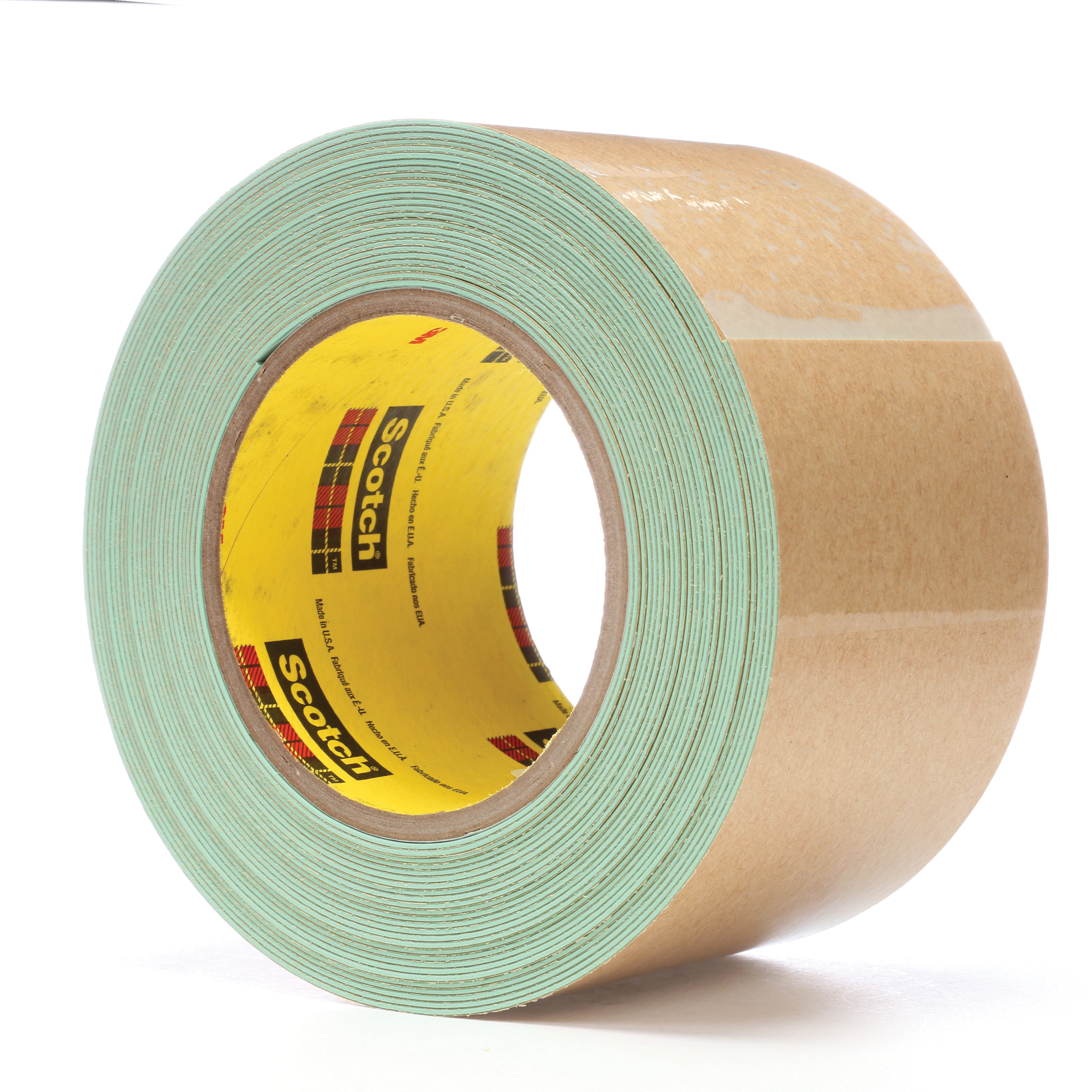 3M™ 021200-24359 500 Impact Stripping Tape, 10 yd L x 3 in W, 36 mil THK, Acrylic Adhesive, Rubber Backing