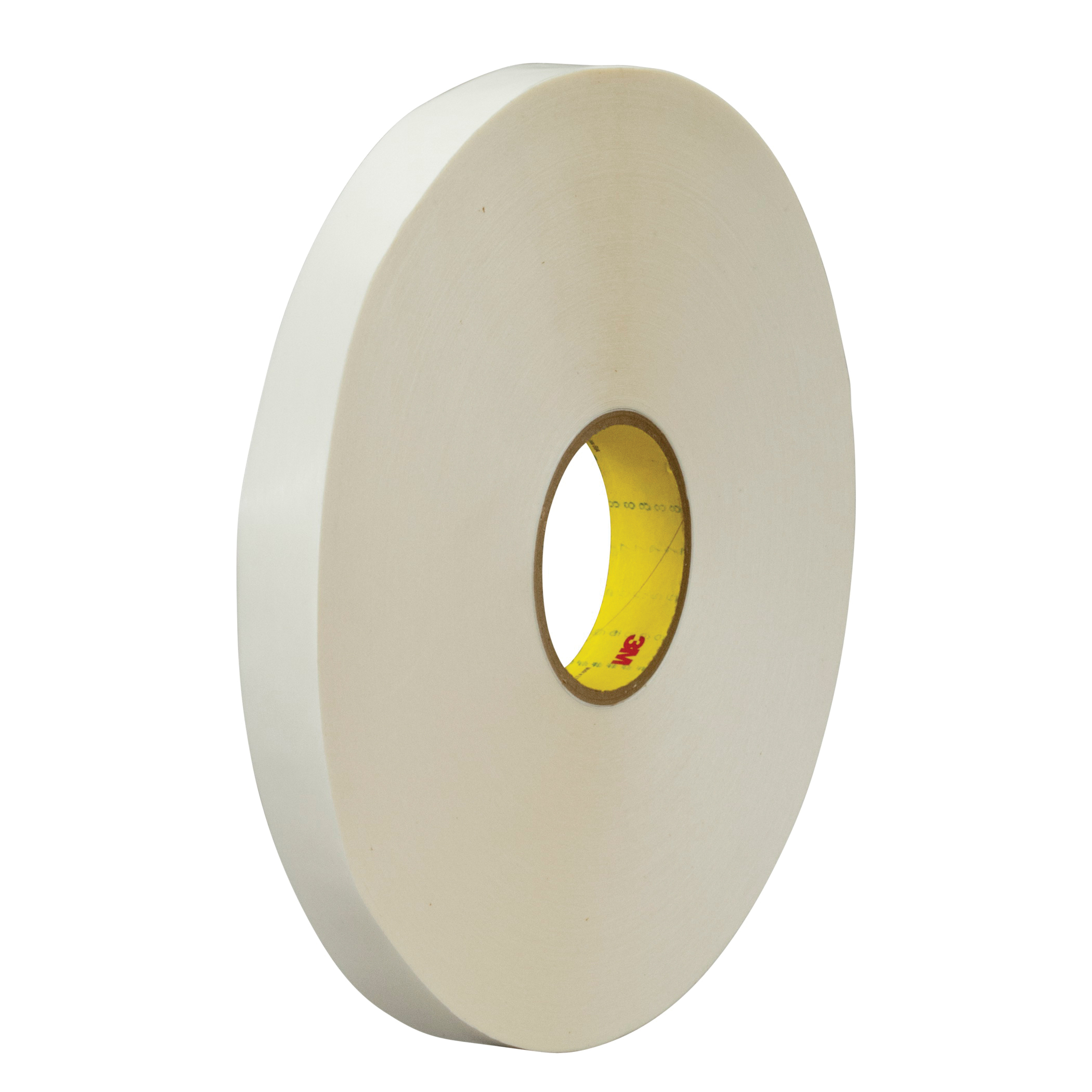 3M™ 021200-24370 Double Coated Tape, 60 yd L x 1 in W, 4 mil THK, 400 Acrylic Adhesive, Polypropylene Backing, Clear