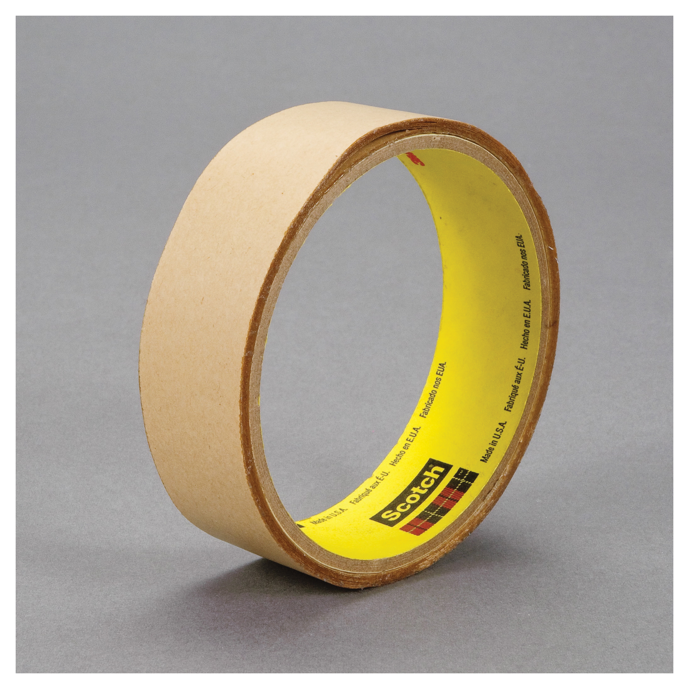 3M™ 021200-24448 Double Coated Adhesive Transfer Tape, 36 yd L x 1 in W, 5 mil THK, 5 mil Acrylic Adhesive, Clear