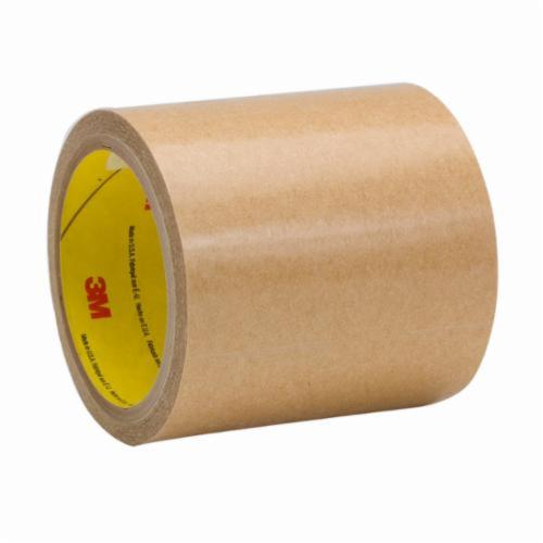 3M™ 021200-24649 High Tack Adhesive Transfer Tape, 60 yd L x 12 in W, 2 mil THK, 300 Acrylic Adhesive, Clear