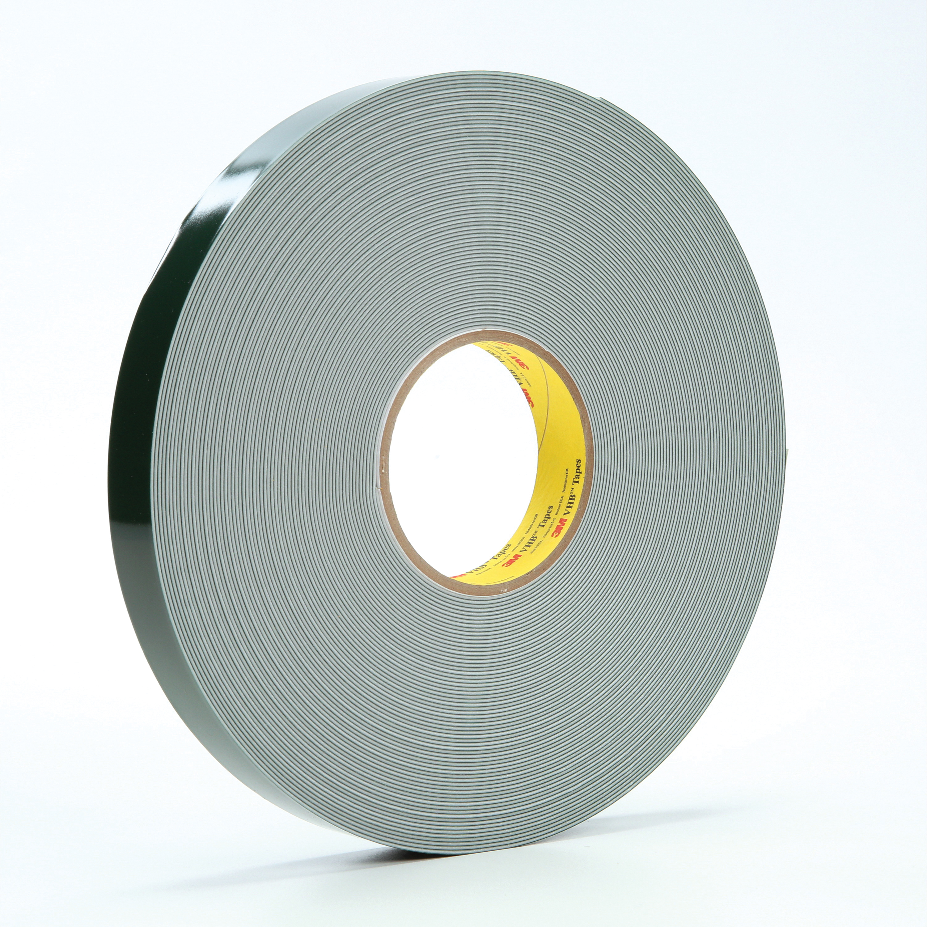 3M™ VHB™ 021200-26112 Double Sided Foam Tape, 36 yd L x 1 in W, 0.045 in THK, General Purpose Acrylic Adhesive, Acrylic Foam Backing, White