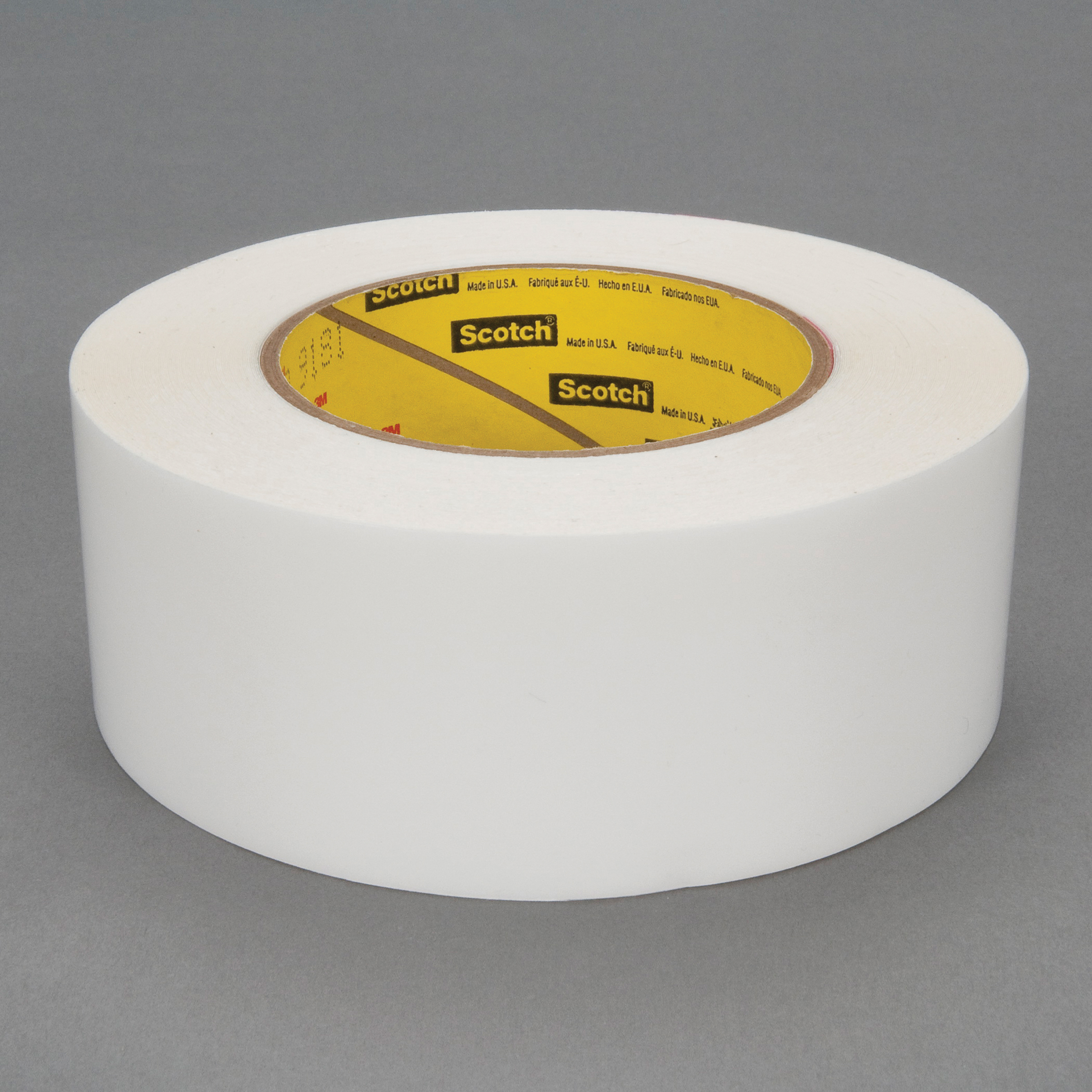 3M™ 021200-26625 High Tack Squeak Reduction Tape, 72 yd L x 2 in W, 7 mil THK, Acrylic Adhesive, UHMW Polyethylene Film Backing, Transparent