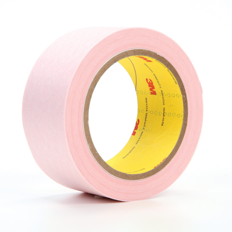 3M™ 021200-26664 3294 Venting Tape, 36 yd Roll L x 2 in W x 5 mil THK, Pink