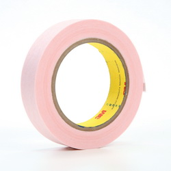 3M™ 021200-26666 3294 Venting Tape, 1 in W x 36 yd Roll L, 5 mil THK, Pink