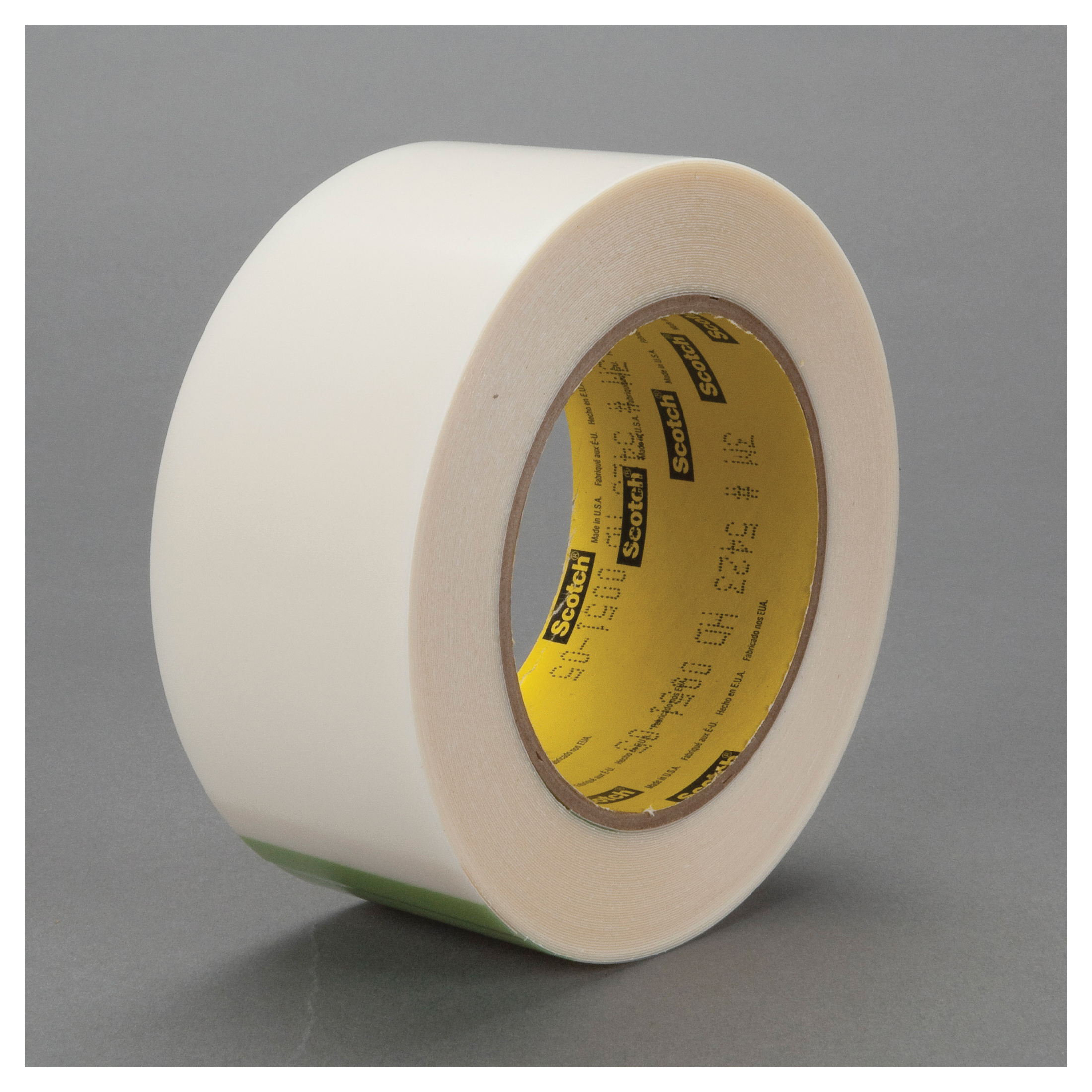 3M™ 021200-30110 Film Tape, 18 yd L x 5 in W, 11.7 mil THK, Rubber Adhesive, UHMWP Backing, Transparent