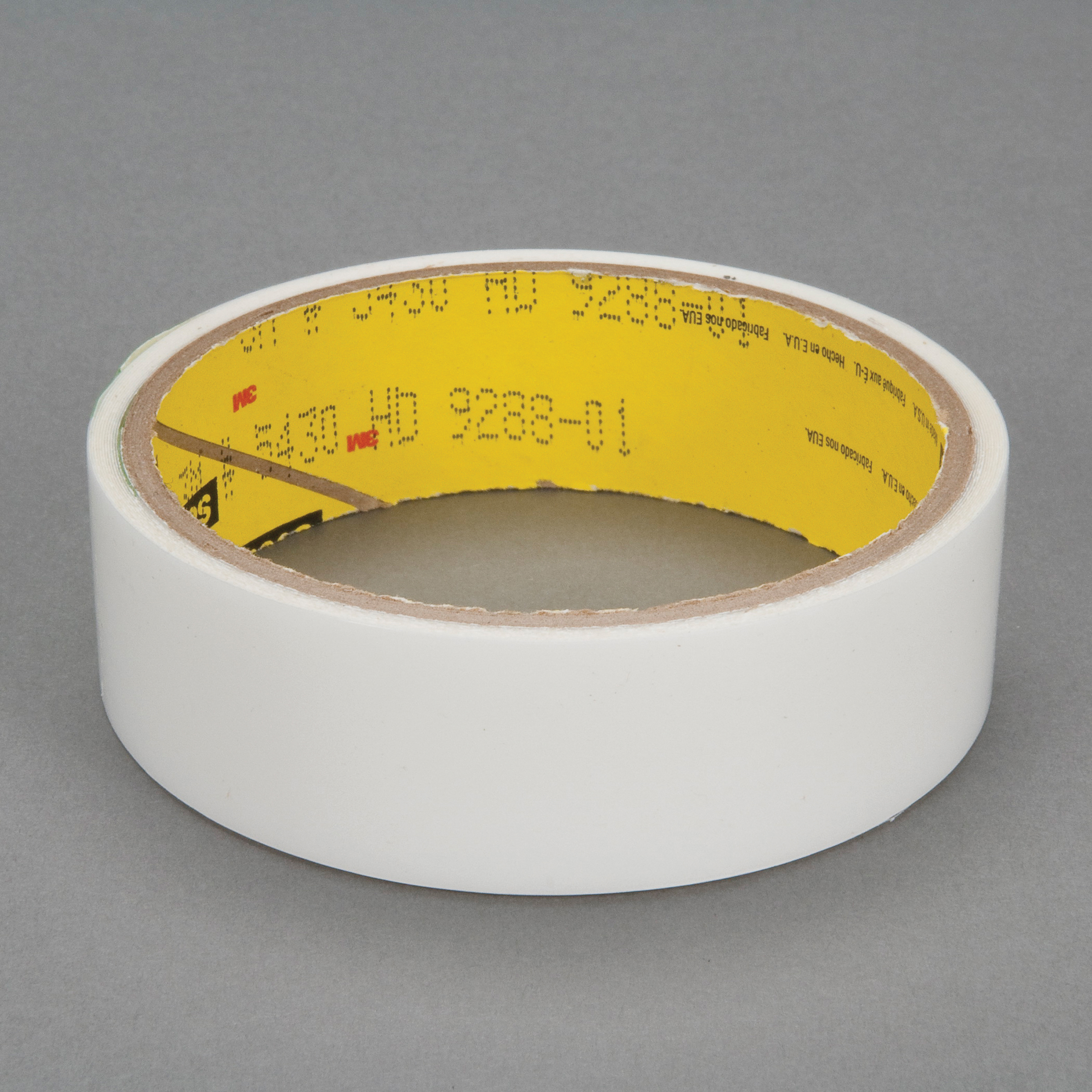 3M™ 021200-24329 High Tack Squeak Reduction Tape, 36 yd L x 1 in W, 7 mil THK, Acrylic Adhesive, UHMWP Film Backing, Transparent