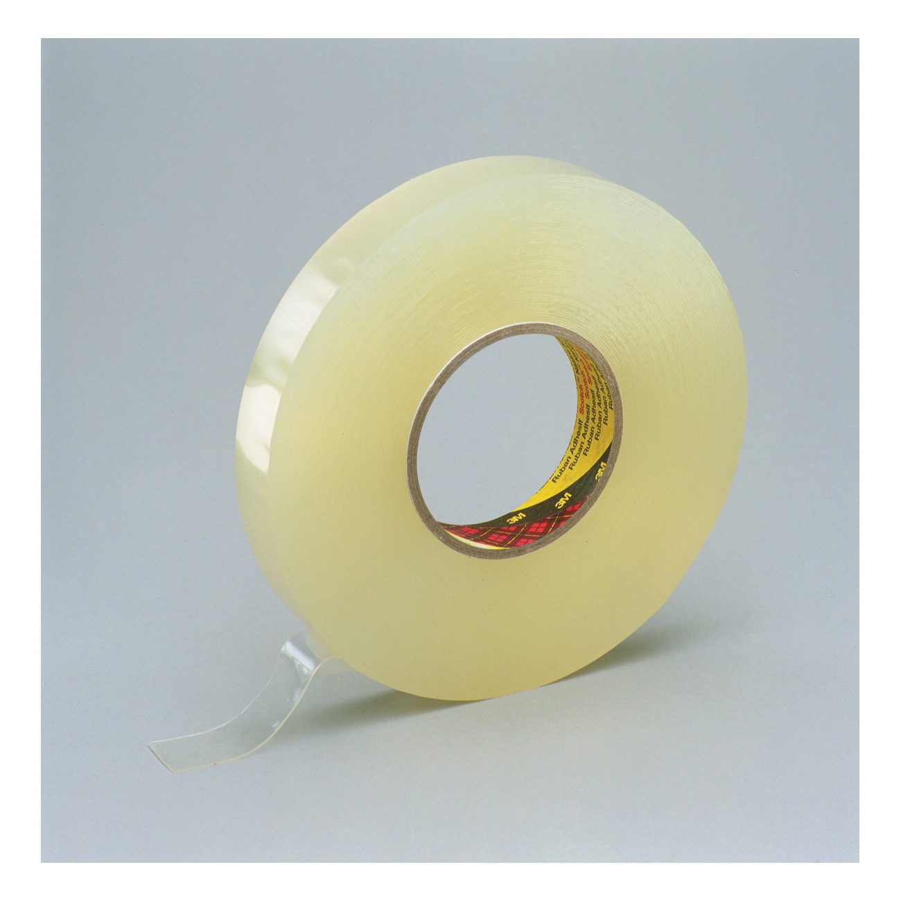 3M™ 021200-38545 Removable Double Coated Tape, 27 yd L x 1 in W, 31 mil THK, Acrylic Adhesive, Foam Backing, Clear