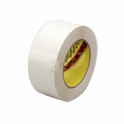 3M™ 021200-60707 Wave Solder Tape, 36 yd L x 1 in W, 2.1 mil THK, Water Soluble Synthetic Adhesive, Polyvinyl Alcohol Film Backing