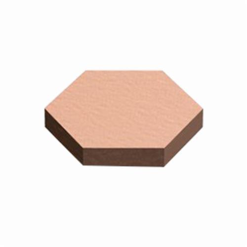 3M™ Bumpon™ 021200-42688 Protective Bumper, Hexagonal Die Cut, Light Brown, Polyurethane Foam, 0.433 in W