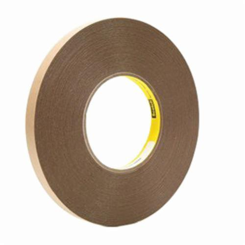 3M™ 021200-42951 Removable Double Coated Repositionable Tape, 144 yd L x 47 in W, 5.8 mil THK, Acrylic Adhesive, Unplasticized PVC Backing, Clear