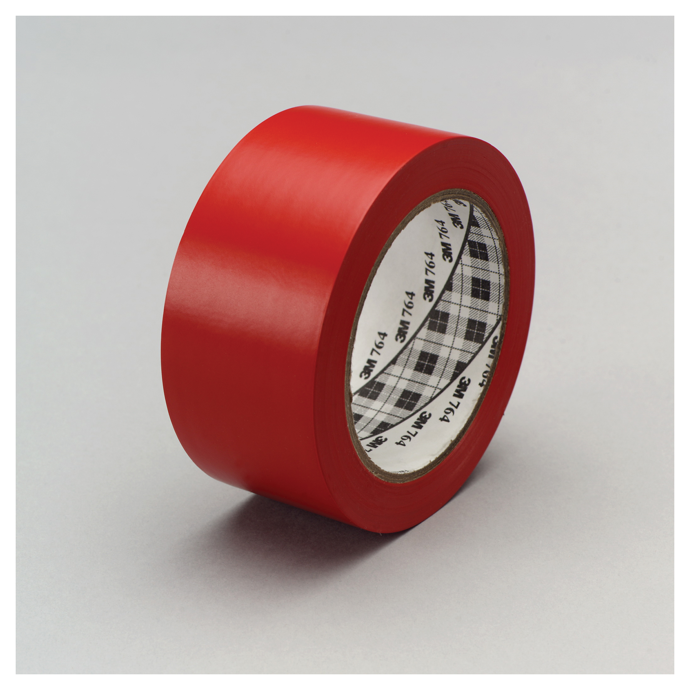 3M™ 021200-43424 General Purpose Vinyl Tape, 36 yd L x 1 in W, 5 mil THK, Rubber Adhesive, PVC Backing, Red