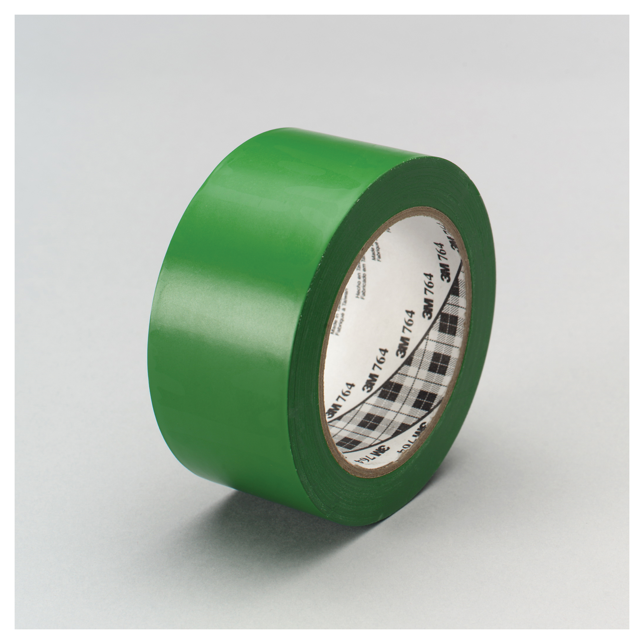 3M™ 021200-43434 General Purpose Vinyl Tape, 36 yd L x 1 in W, 5 mil THK, Rubber Adhesive, Polyvinyl Chloride Backing, Green