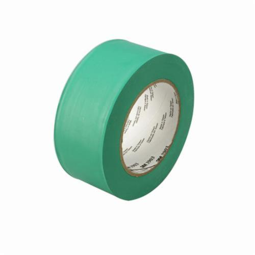 3M™ 021200-45515 General Purpose Duct Tape, 50 yd L x 49 in W, 6.5 mil THK, Rubber Adhesive, Embossed Vinyl Backing, Green