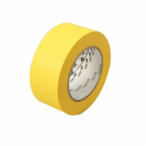 3M™ 021200-45516 General Purpose Duct Tape, 50 yd L x 49 in W, 6.5 mil THK, Rubber Adhesive, Embossed Vinyl Backing, Yellow