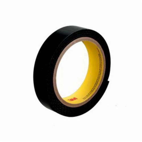 3M™ Scotchmate™ 021200-64764 Reclosable Hook Fastener Tape, 50 yd L x 3/4 in W, 0.14 in THK Engaged, Acrylic Adhesive, Woven Nylon Backing, Black