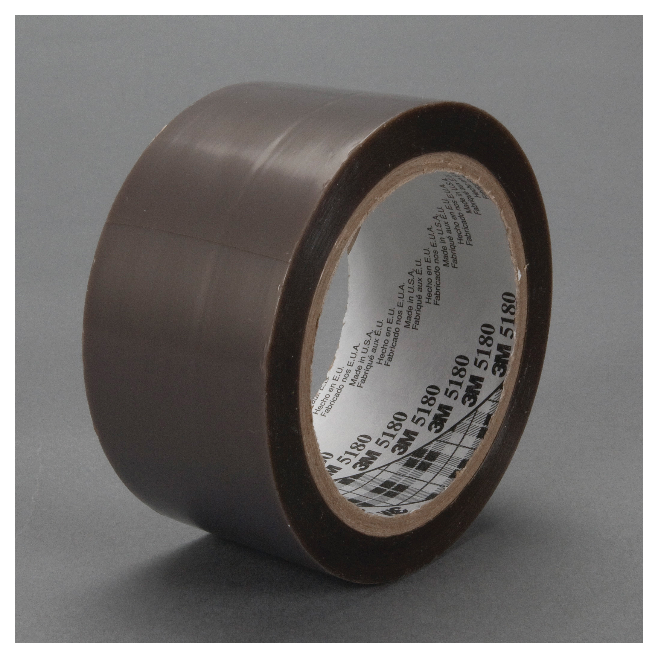 3M™ 021200-48106 General Purpose Film Tape, 36 yd L x 2 in W, 3.5 mil THK, Silicon Adhesive, Skived PTFE Backing, Gray