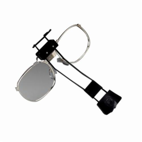 3M™ 021200-60379 Eyeglass Frame and Mount, For Use With 7000 Series Full Facepiece, Corrective Lens, Black