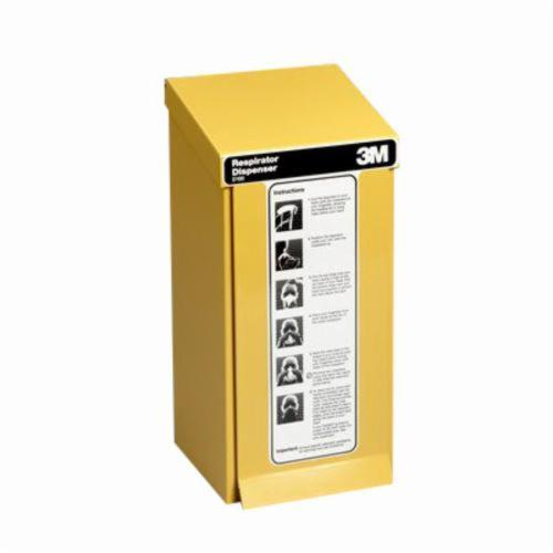 3M™ 021200-60439 Particulate Respirator Dispenser, For Use With 8210 Series Respirators, Yellow