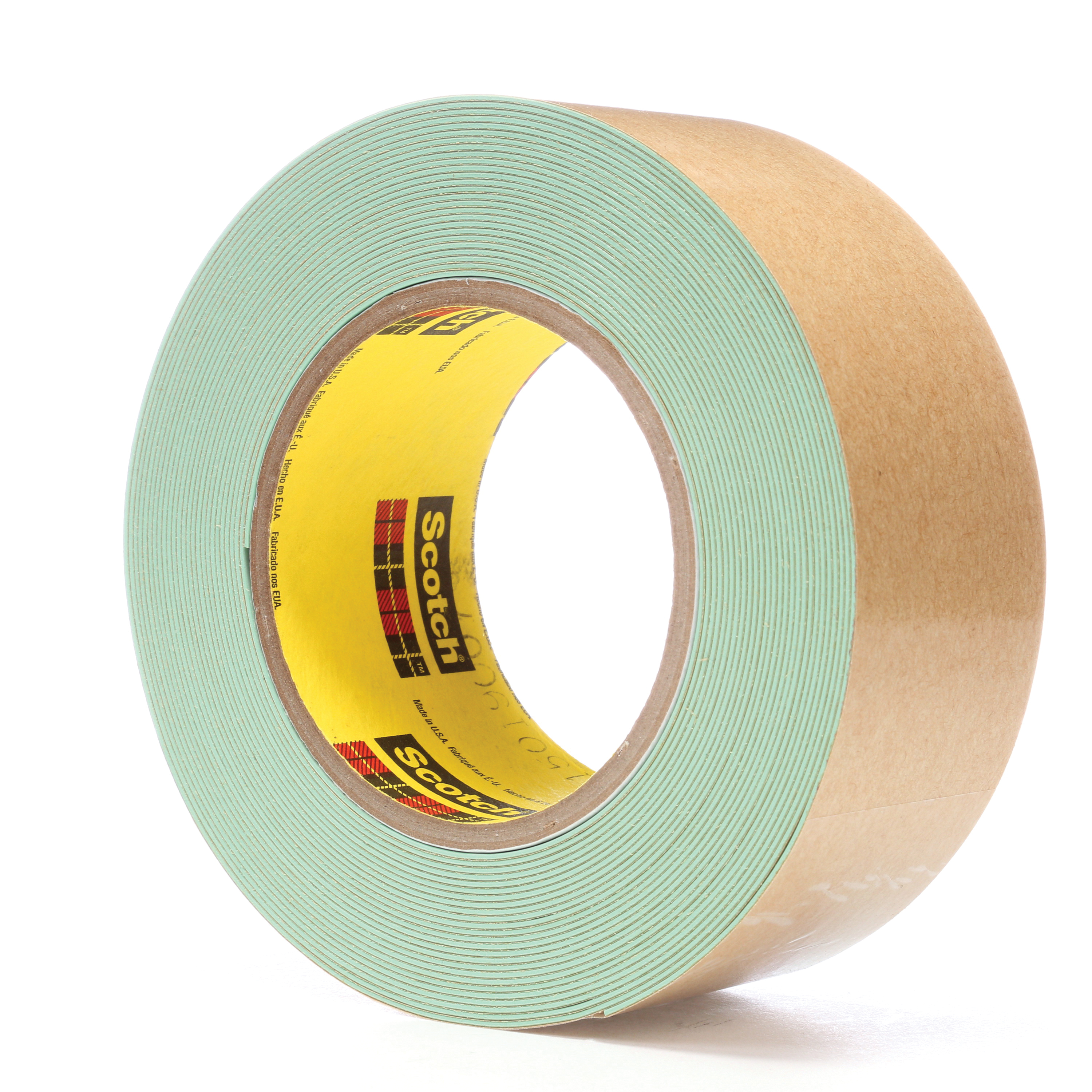 3M™ 021200-60895 Impact Stripping Tape, 10 yd L x 2 in W, 36 mil THK, Acrylic Adhesive, Rubber Backing