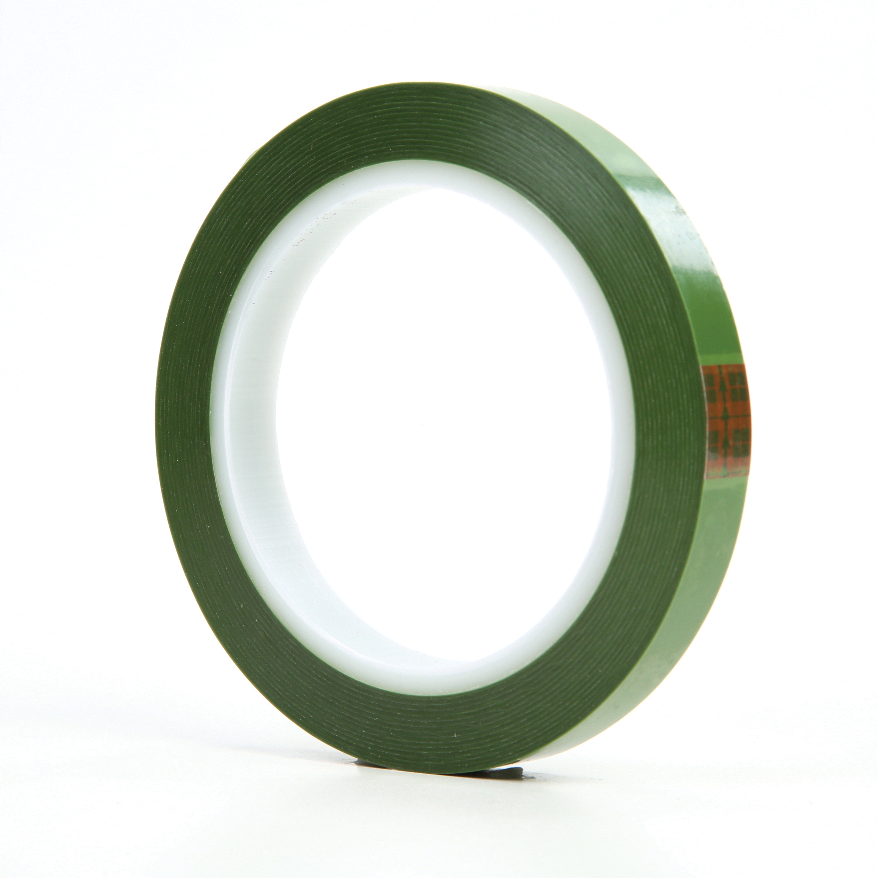 3M™ 021200-61456 Tear-Resistant Masking Tape, 72 yd L x 1/2 in W, 2.4 mil THK, Silicone Adhesive, 1.4 mil Polyester Backing