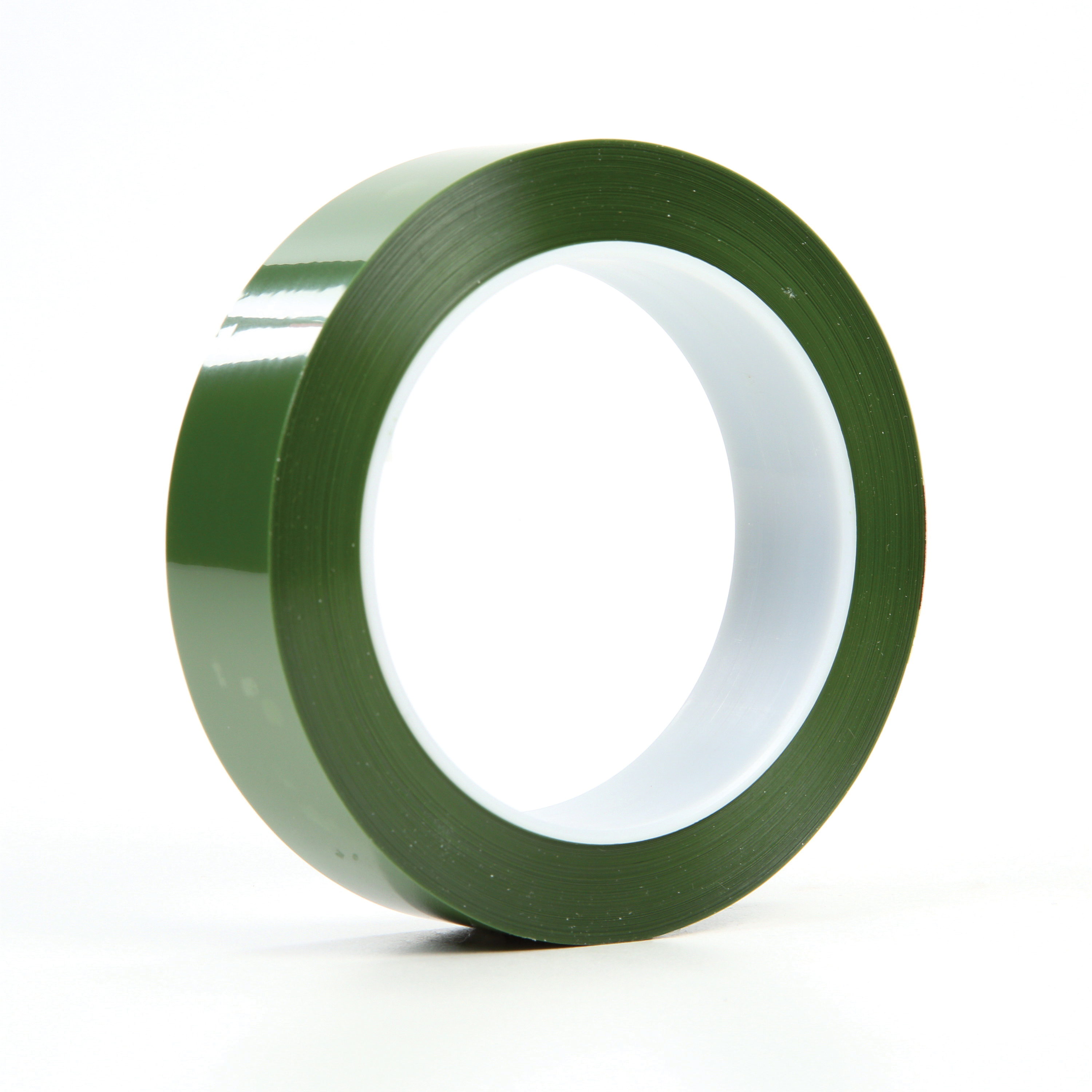 3M™ 021200-61458 Tear-Resistant Masking Tape, 72 yd L x 1 in W, 2.4 mil THK, Silicone Adhesive, 1.4 mil Polyester Backing