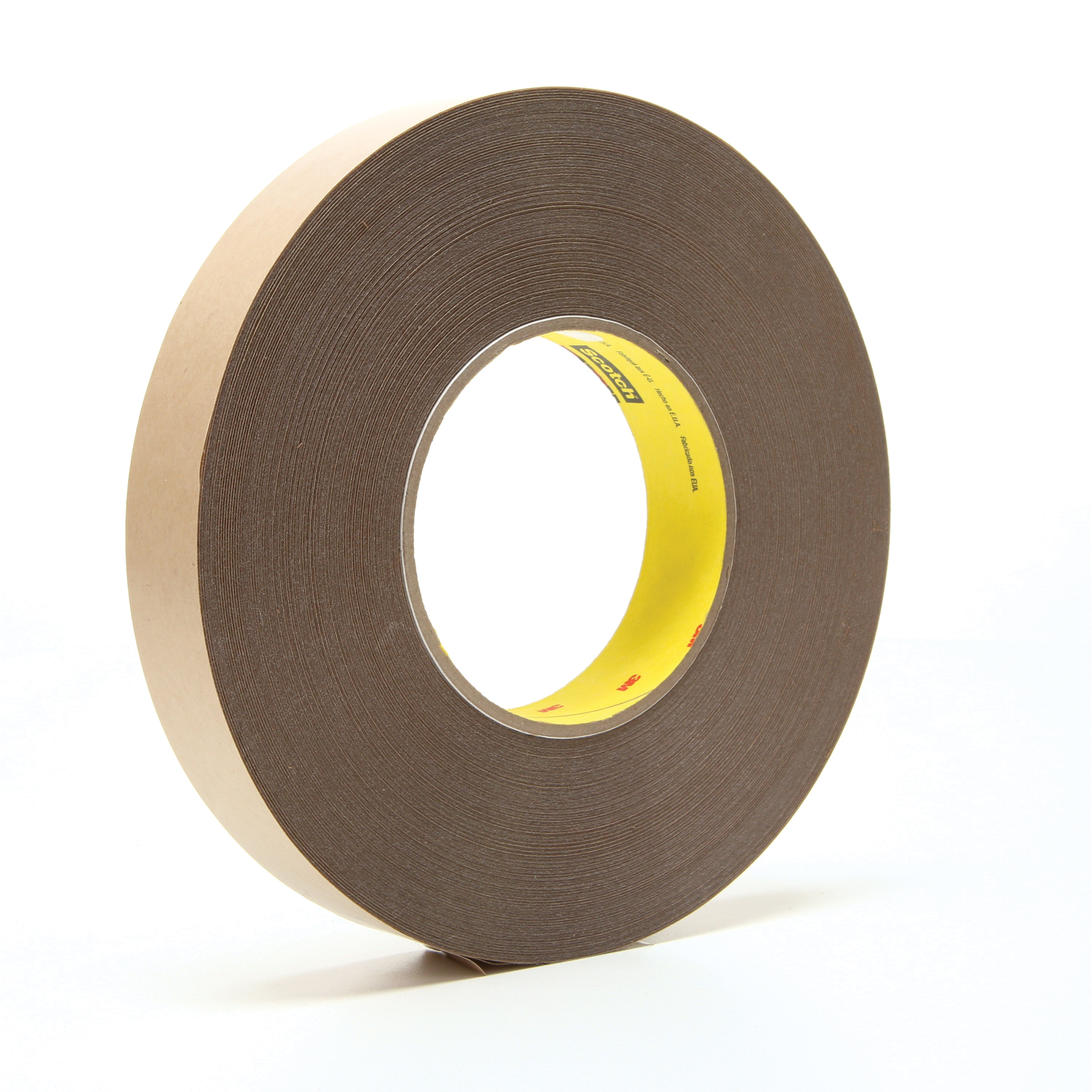 3M™ 021200-67708 Removable Double Coated Repositionable Tape, 72 yd L x 1 in W, 5.8 mil THK, Acrylic Adhesive, UPVC Backing, Clear
