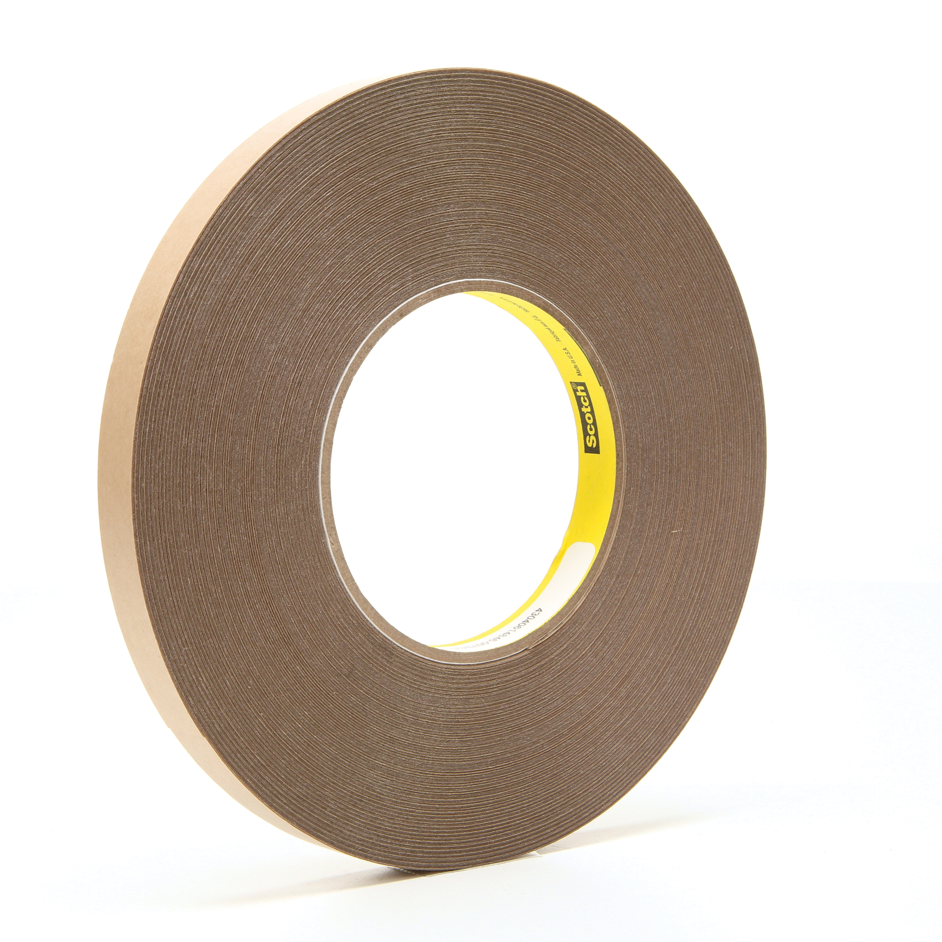 3M™ 021200-67709 Removable Double Coated Repositionable Tape, 72 yd L x 1/2 in W, 5.8 mil THK, Acrylic Adhesive, UPVC Backing, Clear