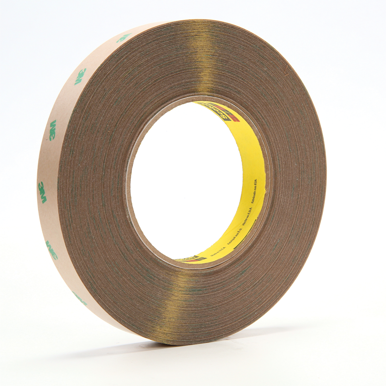 3M™ 021200-67775 Medium Tack Adhesive Transfer Tape, 60 yd L x 3/4 in W, 9.2 mil THK, 5 mil Acrylic Adhesive, Clear