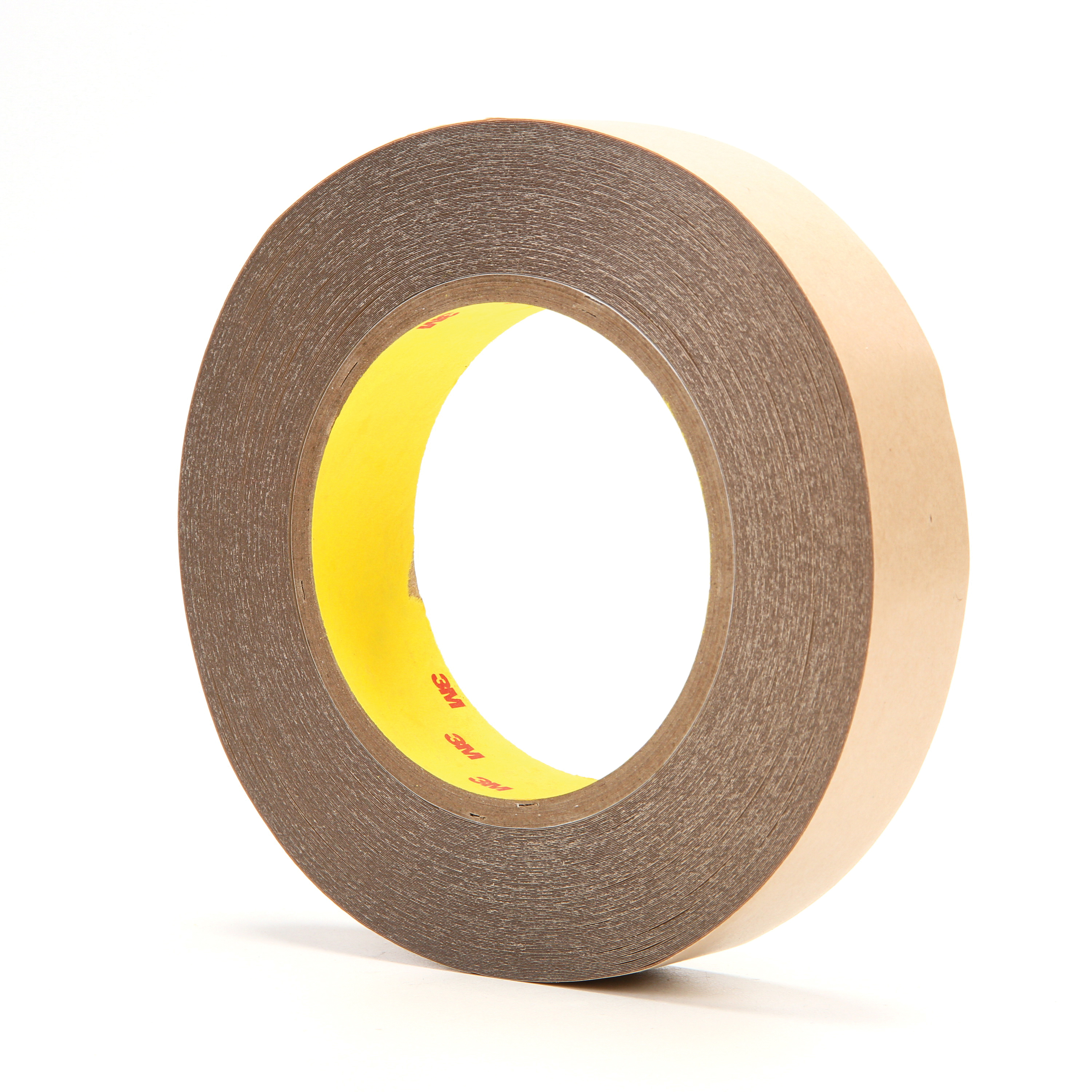 3M™ 021200-67796 Double Coated Tape, 36 yd L x 1 in W, 5.6 mil THK, 350 Acrylic Adhesive, Thin Polyester Backing, Clear