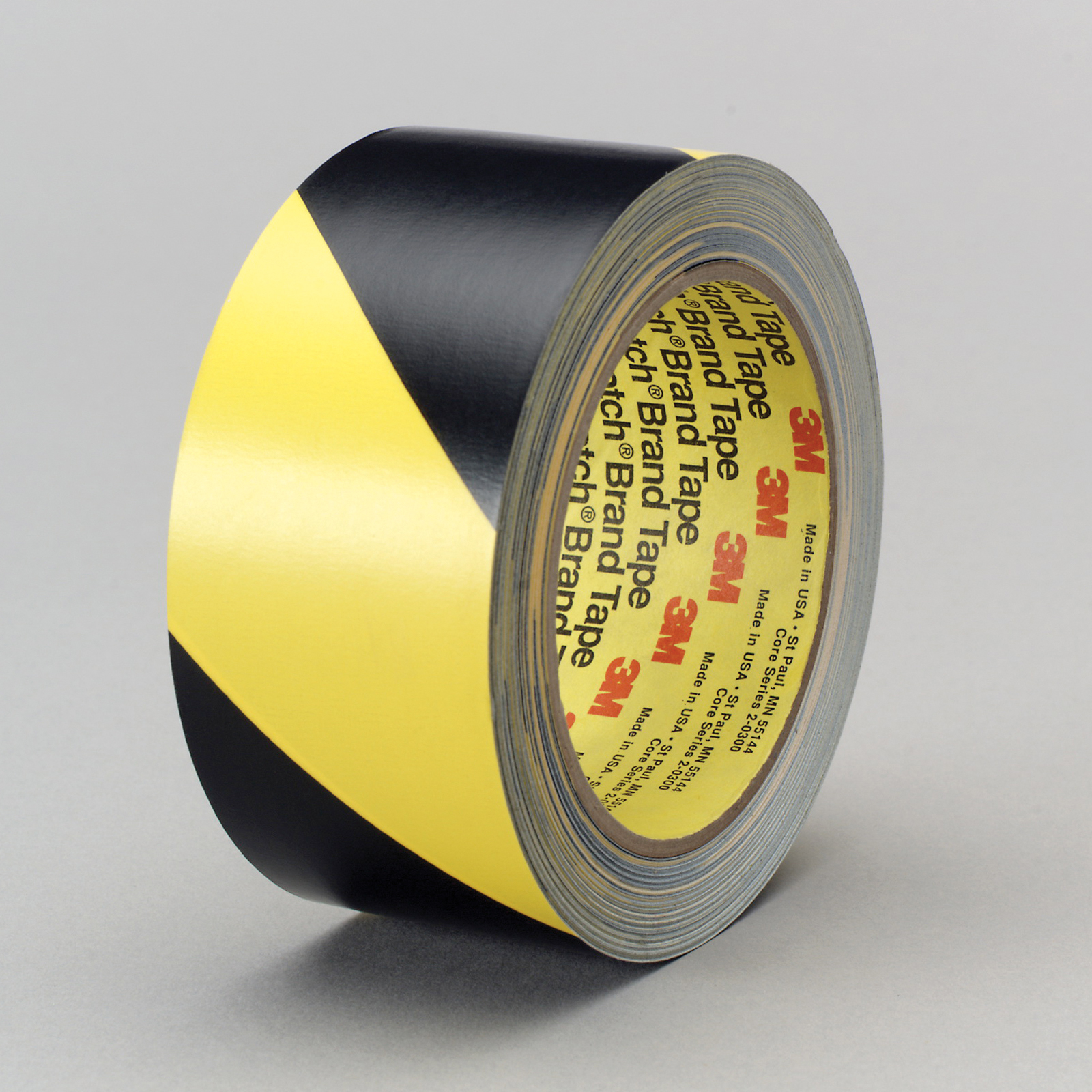 3M™ 021200-03952 5702 Safety Stripe Tape, 36 yd L x 4 in W, Black/Yellow