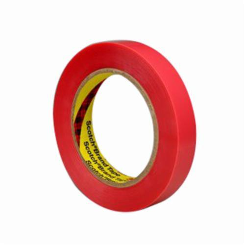 3M™ 021200-85957 One Hour Photo Splicing Tape, 72 yd L x 1 in W, 3.5 mil THK, Rubber/Silicone Blend Adhesive, Polyester Backing, Salmon Pink