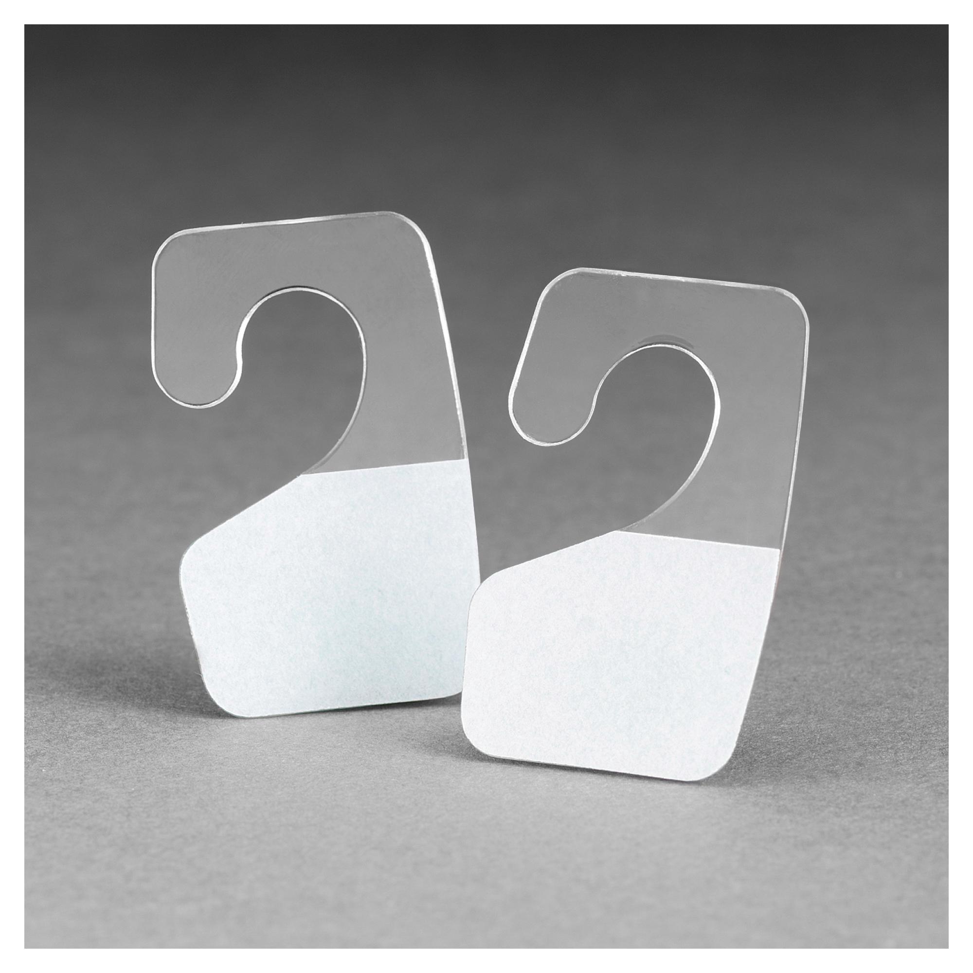 3M™ 021200-73692 J-Hook Hang Tab, 1-3/8 in L x 7/8 in W, Polyester