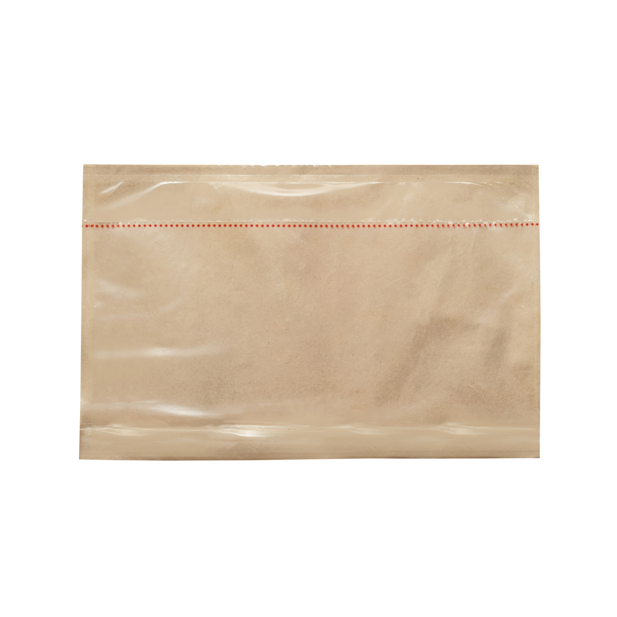 3M™ 021200-73777 Non-Printed Perforated Packing List Envelope, 10-3/4 in L x 6-3/4 in W, Polyethylene Film Backing, Clear