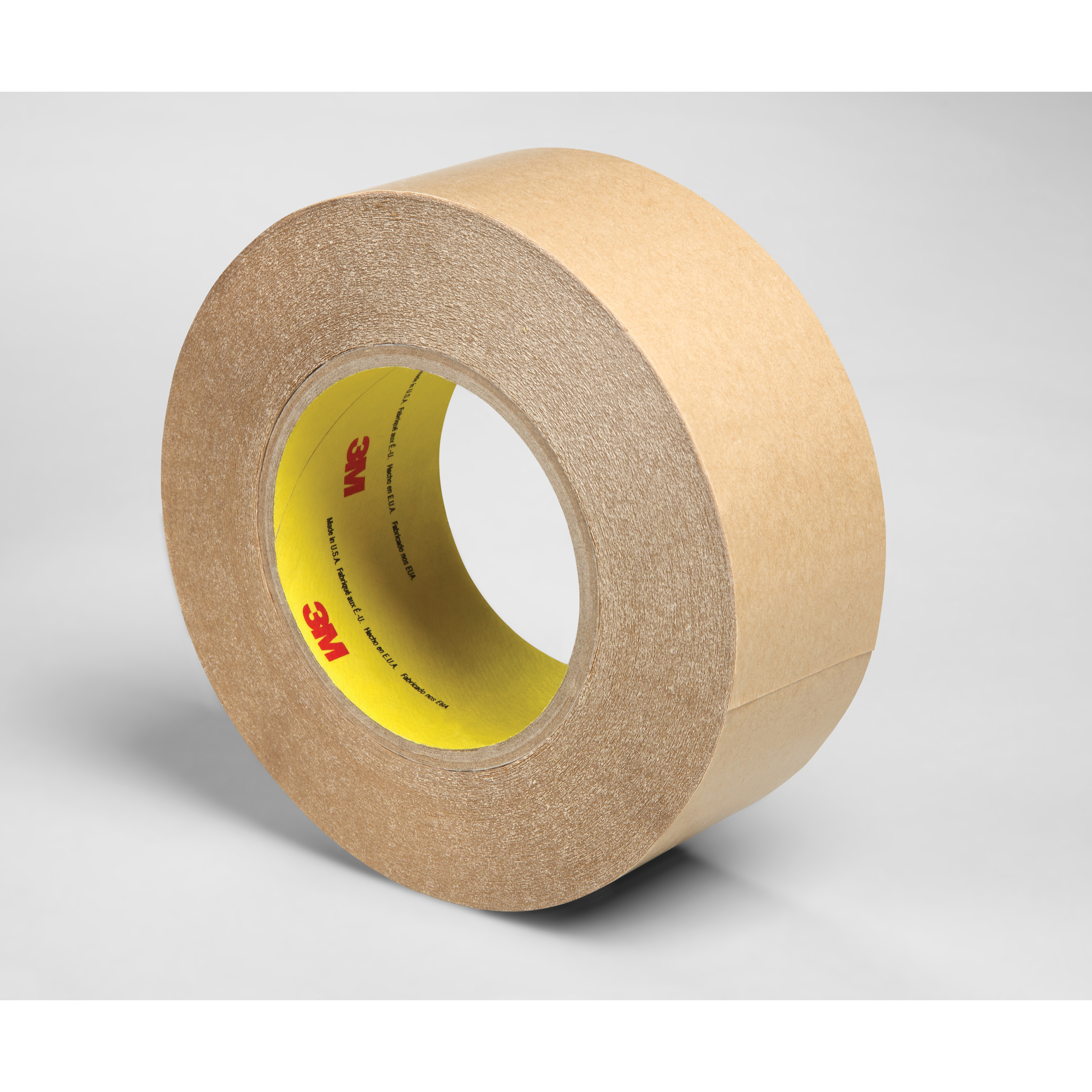 3M™ 021200-84268 Double Coated Tape, 60 yd L x 2 in W, 4 mil THK, 400HT Acrylic Adhesive, Polypropylene Backing, Clear
