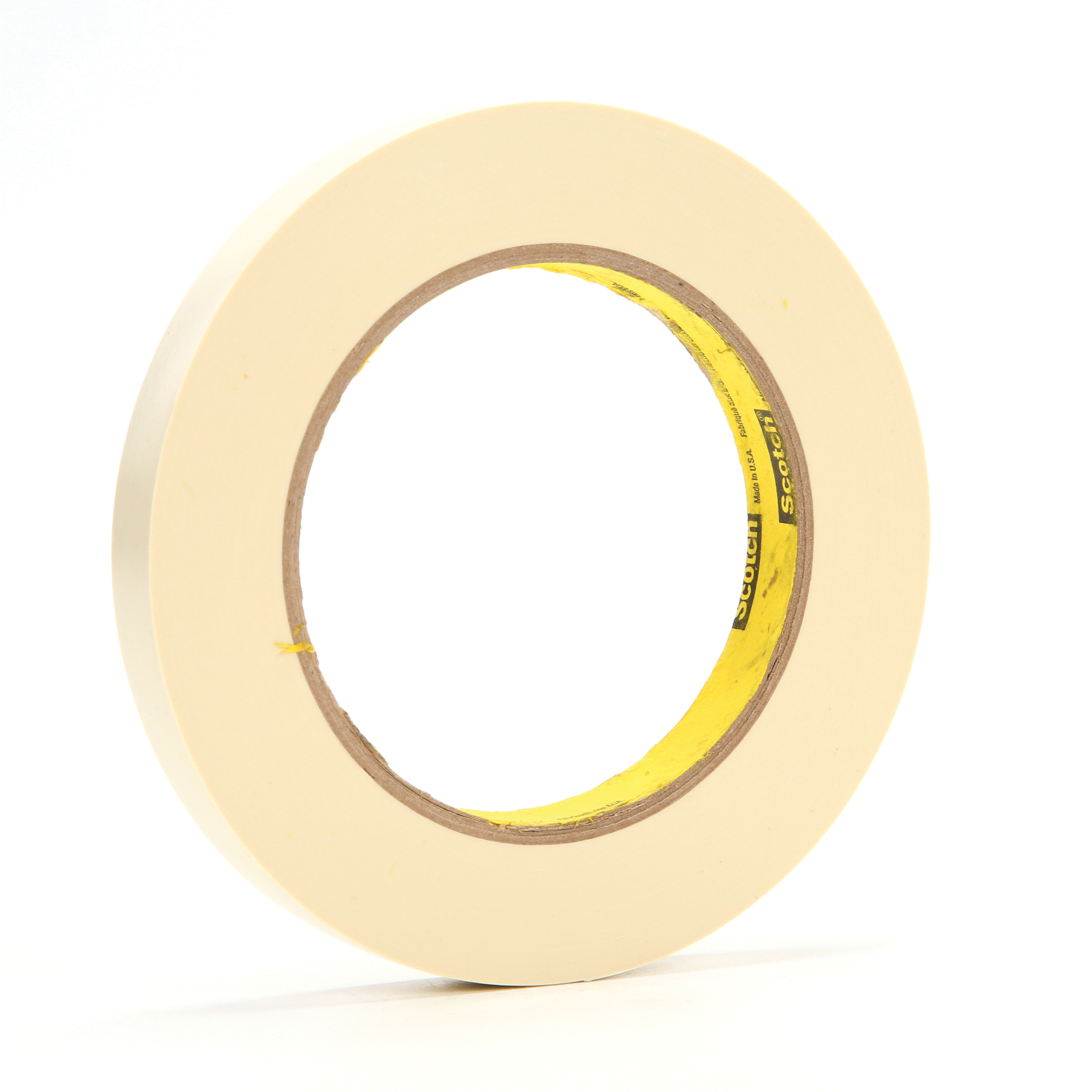 3M™ 021200-85614 Electroplating Tape, 36 yd L x 1/2 in W, 7.1 mil THK, Rubber Adhesive, Vinyl Backing