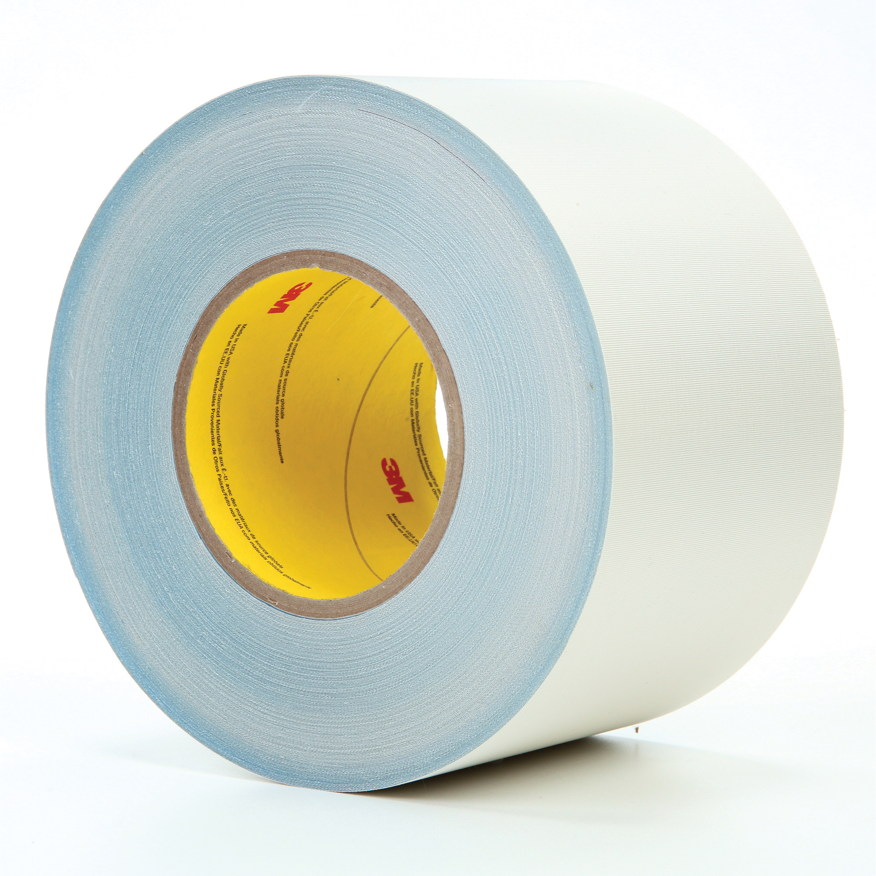 3M™ 021200-85652 Cloth Tape, 60 yd L x 4 in W, 8.3 mil THK, Thermoset Rubber Resin Adhesive, Glass Cloth Backing, White