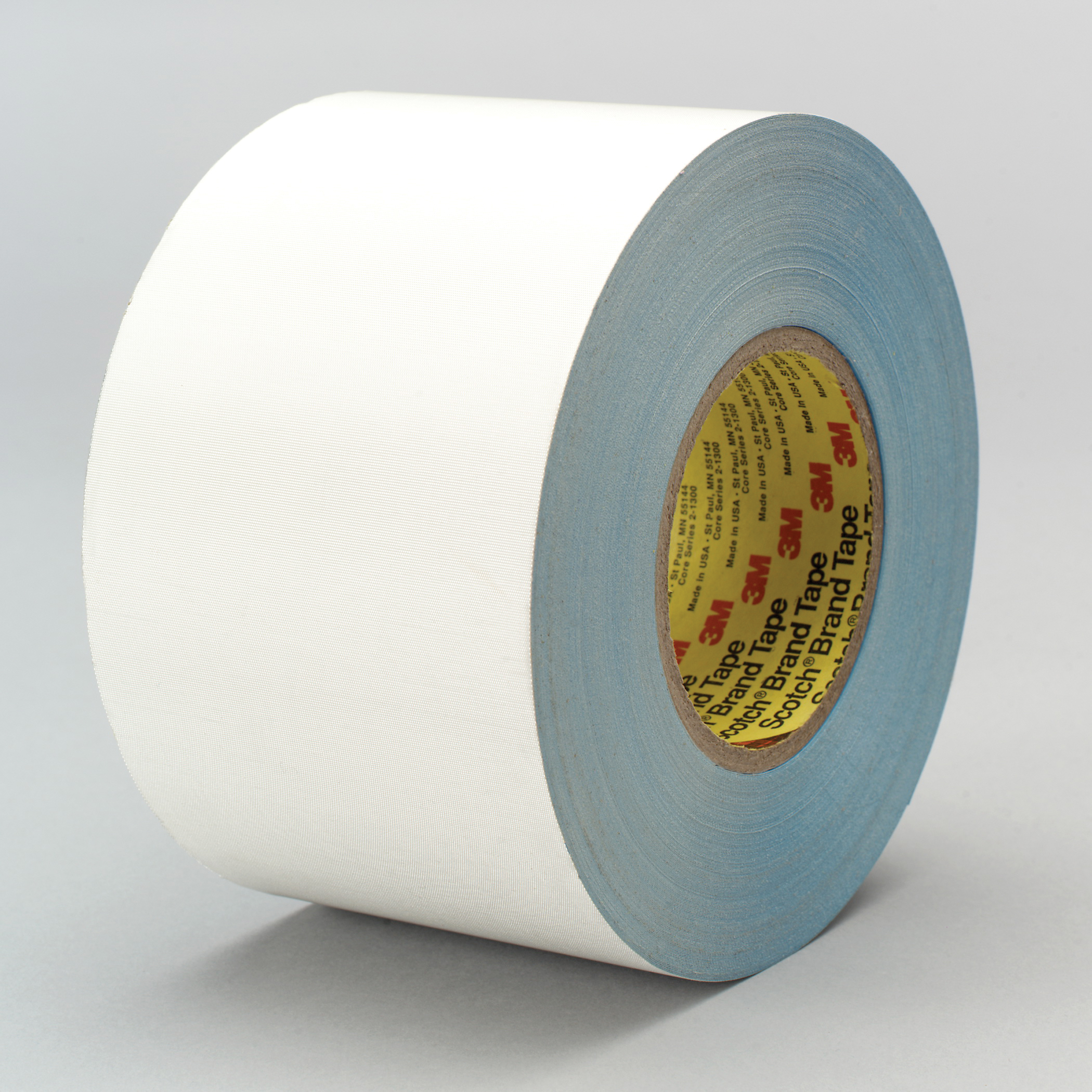 3M™ 021200-85653 Cloth Tape, 60 yd L x 5 in W, 8.3 mil THK, Thermoset Rubber Resin Adhesive, Glass Cloth Backing, White