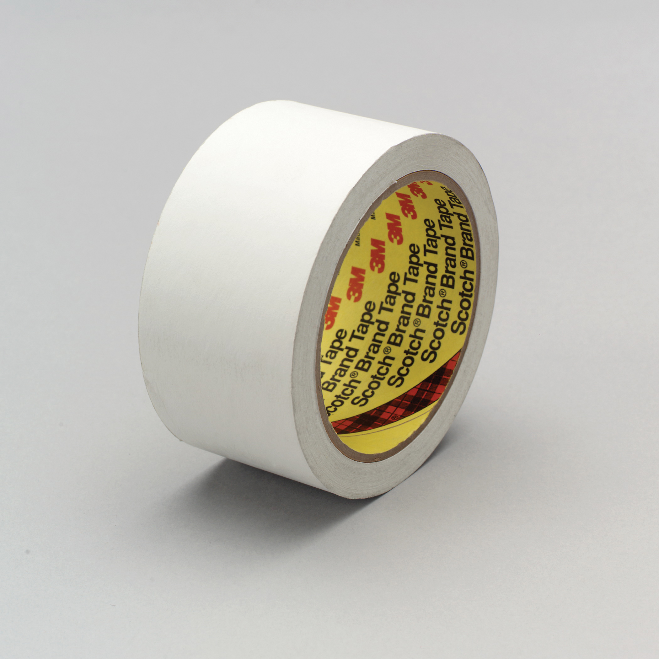 3M™ 021200-86008 3051 Low Tack Tape, 36 yd L x 1/2 in W, 3.8 mil THK, Acrylic Adhesive, Flatback Paper Backing