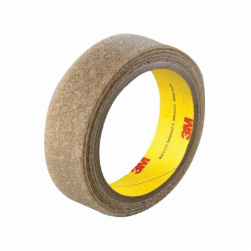 3M™ Scotchmate™ 021200-86409 Reclosable Loop Fastener Tape, 50 yd L x 2 in W, 0.15 in THK Engaged, Synthetic Rubber Adhesive, Woven Nylon Backing, Beige