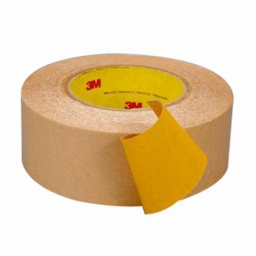 3M™ 021200-87749 Double Coated Tape, 60 yd L x 2 in W, 4 mil THK, 400HT Acrylic Adhesive, Polypropylene Backing, Yellow